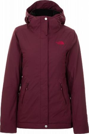 Куртка утепленная женская Inlux Insulated, размер 48-50 The North Face. Цвет: красный