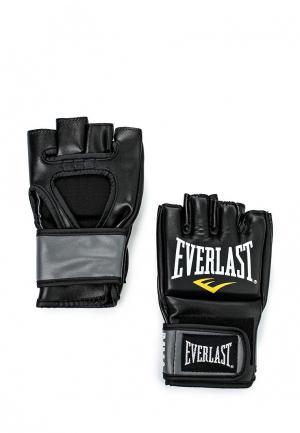 Перчатки ММА Everlast Pro Style Grappling. Цвет: черный