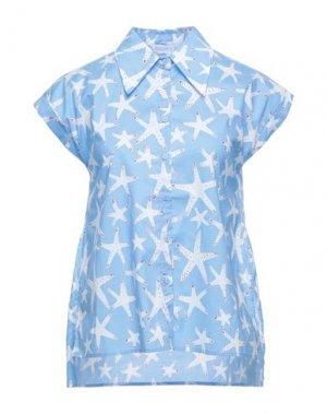 Pубашка COMPAÑIA FANTASTICA. Цвет: небесно-голубой