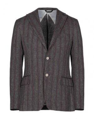 Пиджак TAKESHY KUROSAWA. Цвет: красно-коричневый
