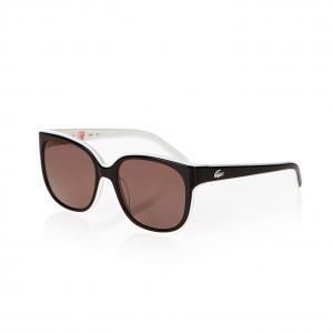 Солнечные очки Lacoste. Цвет: коричневый