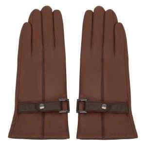 Перчатки Alla Pugachova AP33307-cognac-brown-21Z. Цвет: коричневый/коричневый