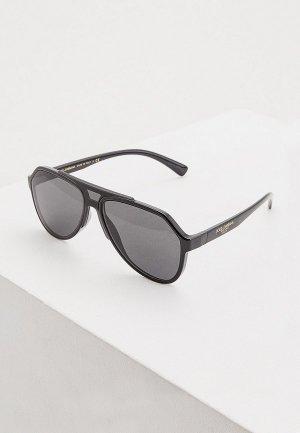 Очки солнцезащитные Dolce&Gabbana 0DG6128 501/87. Цвет: черный