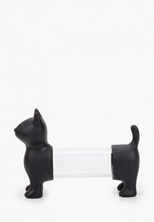 Набор для хранения специй Balvi Cat. Цвет: черный