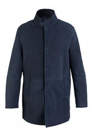 Пальто GIORGIO ARMANI. Цвет: синий