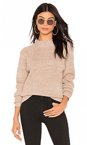 Пуловер too good Free People. Цвет: беж