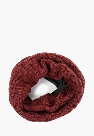 Снуд Buff Knitted&Polar Neckwarmer Airon. Цвет: бордовый