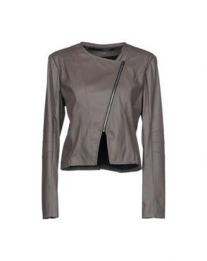 Куртка ANNARITA N. Цвет: серый
