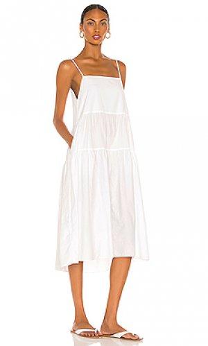 Платье Enza Costa. Цвет: белый