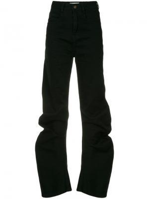 Зауженные джинсы с завышенной талией Ground Zero