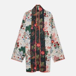 Женское кимоно x Liberty All Over Print Reversible Puma. Цвет: зелёный