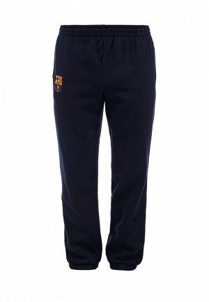 Брюки спортивные FC Barcelona FC001EMASB43. Цвет: синий