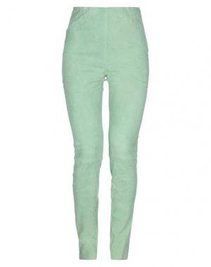 Повседневные брюки ENES. Цвет: светло-зеленый