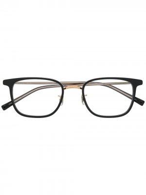 Очки в квадратной оправе Eyevan7285. Цвет: черный