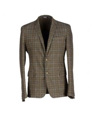 Пиджак ITALIANS GENTLEMEN. Цвет: хаки