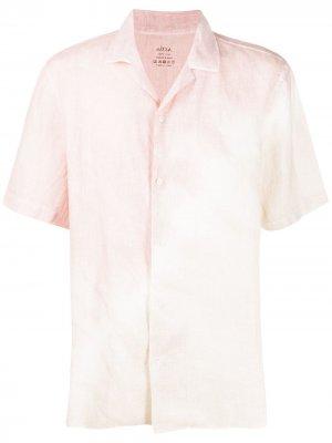 Рубашка с принтом тай-дай Altea. Цвет: розовый