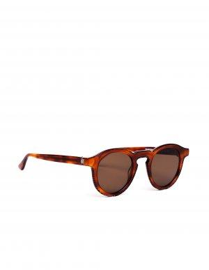 Коричневые солнцезащитные очки Courtesy Thierry Lasry