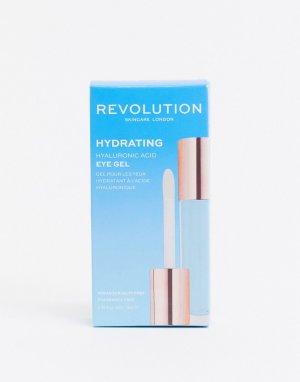 Увлажняющий гель для кожи вокруг глаз с гиалуроновой кислотой 9 мл Skincare-Бесцветный Revolution