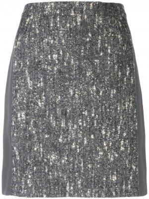 Юбка 2000-х годов Balenciaga Pre-Owned. Цвет: серый