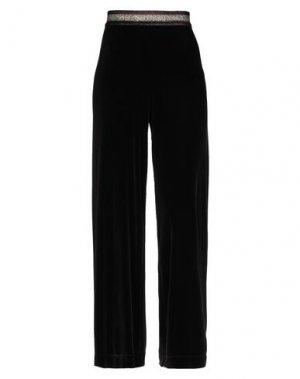 Повседневные брюки HANITA. Цвет: темно-коричневый