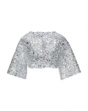 Пиджак GIANLUCA CAPANNOLO. Цвет: серебристый