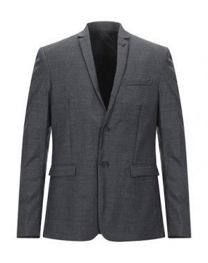 Пиджак PATRIZIA PEPE. Цвет: стальной серый