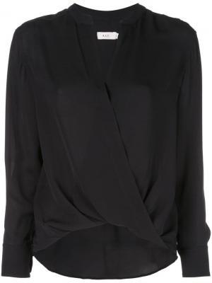 Блузка с V-образным вырезом A.L.C.. Цвет: черный