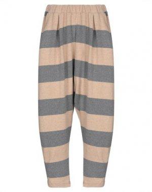 Повседневные брюки MAMA B.. Цвет: песочный