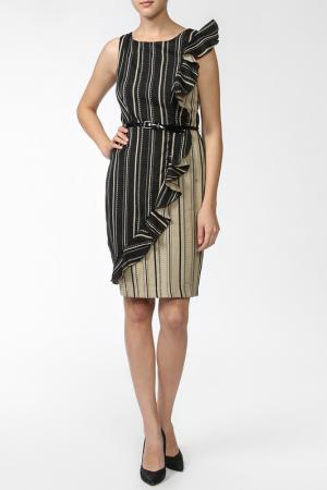 Платье Eva Franco. Цвет: бежевый