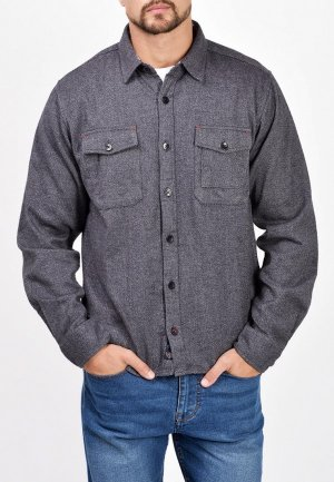 Рубашка Mavango. Цвет: серый