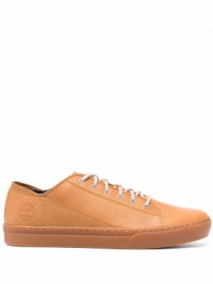 Low-top leather sneakers Timberland. Цвет: коричневый