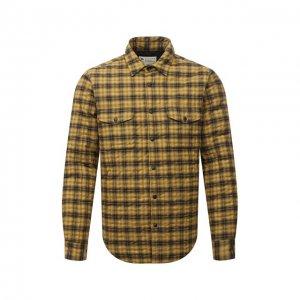 Утепленная куртка Aspesi. Цвет: жёлтый
