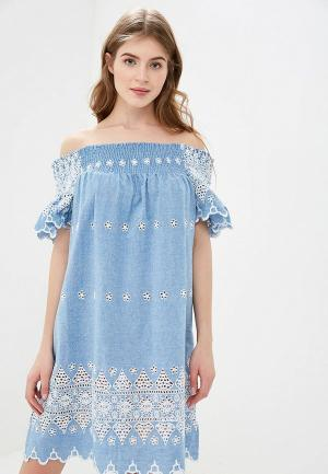 Платье Glamorous. Цвет: голубой