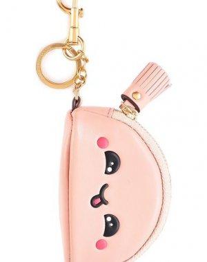 Брелок для ключей ANYA HINDMARCH. Цвет: розовый