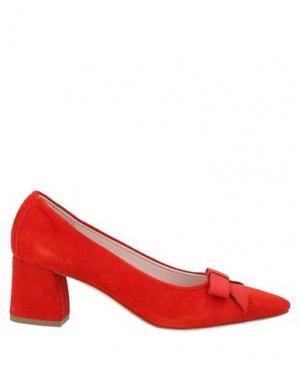 Туфли GIANLUCA PISATI. Цвет: красный