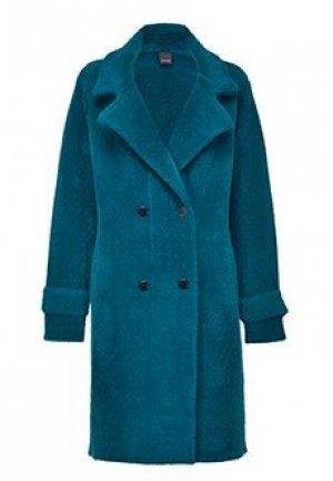Пальто PINKO. Цвет: зеленый