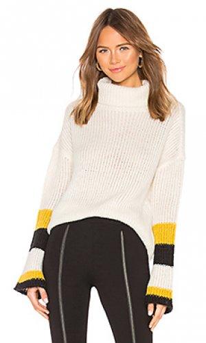 Пуловер cisco Lovers + Friends. Цвет: ivory