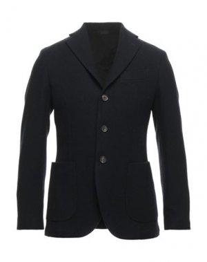 Пальто DOPPIAA. Цвет: темно-синий