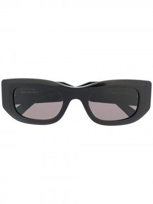 Солнцезащитные очки Blow Balenciaga Eyewear. Цвет: черный