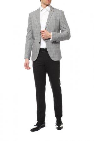 Пиджак Cinque. Цвет: серый, клетка
