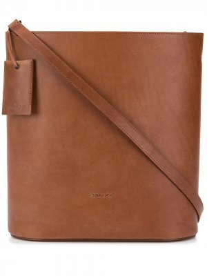 Сумка на плечо со съемным ремешком Marsèll. Цвет: коричневый