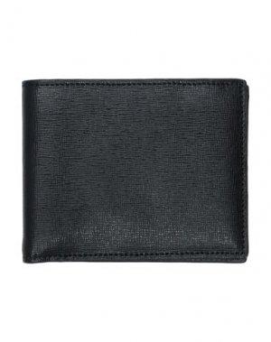 Бумажник CANALI. Цвет: черный