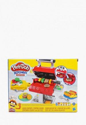 Набор для творчества Play-Doh лепки Гриль барбекю. Цвет: разноцветный