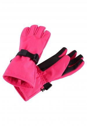 Перчатки tec Pivo Розовые Reima. Цвет: розовый