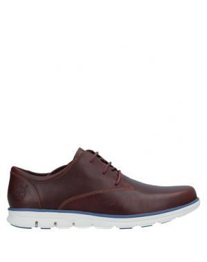 Обувь на шнурках TIMBERLAND. Цвет: какао
