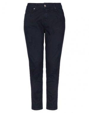 Джинсовые брюки ANIYE BY. Цвет: темно-синий
