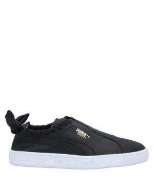 Низкие кеды и кроссовки PUMA. Цвет: черный