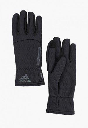Перчатки adidas CLMHT GLOVES. Цвет: черный