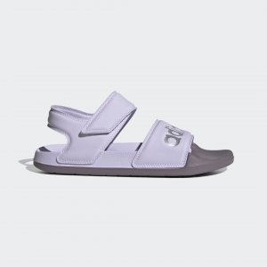 Сандалии Adilette Performance adidas. Цвет: серебристый