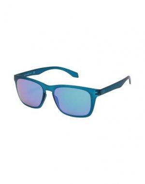 Солнечные очки ALSTECA. Цвет: синий